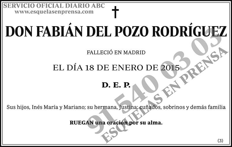 Fabián del Pozo Rodríguez